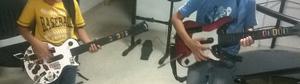 Wii Con Guitarras Y Batería