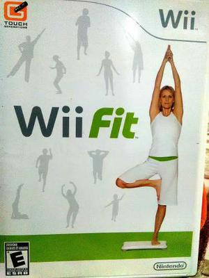 Wii Fit Con Balance Board (tabla) Original