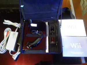 Wii Negro+chip+bolso+garantia Somos Tienda Fisica