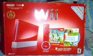 Wii Rojo Edicion Especial