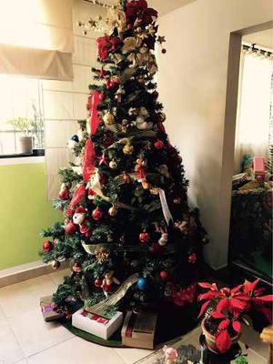 Árbol Navidad Pino Canadiense 2 Metros Con O Sin Accesorios