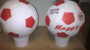 Balón De Futbol. Número 5. Marca Happy Y Vicball.