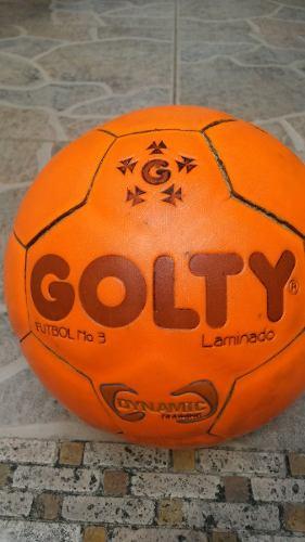 Balon De Futbol Campo Golty Numero 3