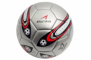 Balon De Futbol N5 Mercury Atletikus (plateado)