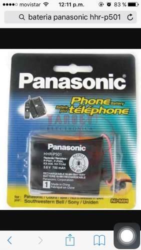 Bateria Para Teléfonos Panasonic Hhr-p501 Originales Nuevas
