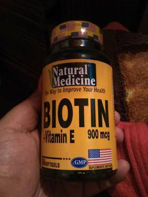 Biotin + Vitamina E 900 Mcg