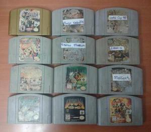Consolas, Juegos Y Controles N64.