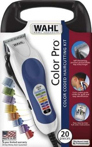 Maquina De Afeitar Wahl Color Pro 20 Piezas Made In Usa !!!