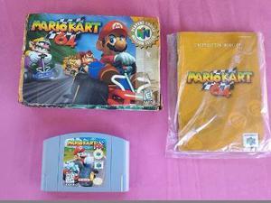 Mario Kart Con Caja Y Manuales Para Nintendo 64