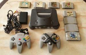 Nintendo 64 2 Controles Zelda Ocaria Of Time 7 Juegos