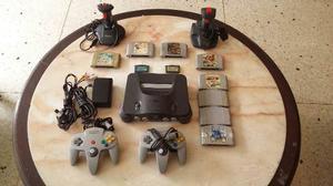 Nintendo 64 8 Juegos 2 Controles 2 Juegos Advance Y Mas