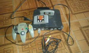 Nintendo 64 Con Todos Sus Cables Un Control Y 2 Juegos