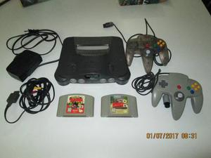 Nintendo 64 + Dos Controles + 2 Juegos