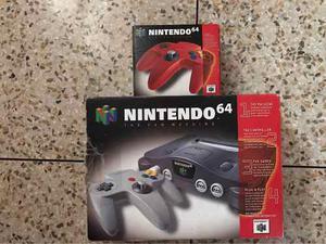 Nintendo 64 En Perfecto Estado, 2 Controles, Nueve Juegos