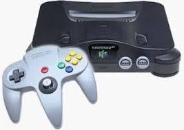 Nintendo 64 Mas Controles
