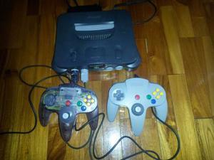 Nintendo64 2 Controles Y 1 Juego De Basket