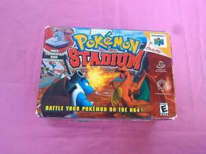 Pokemon Stadium Para Nintendo 64 Con Caja Y Manual
