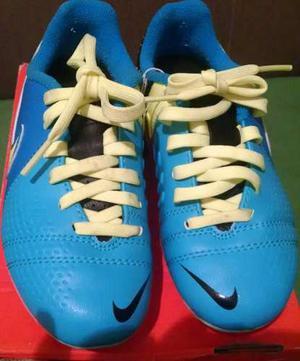 Tacos Nike Original, Us 11 Eur 28 Azul/verde