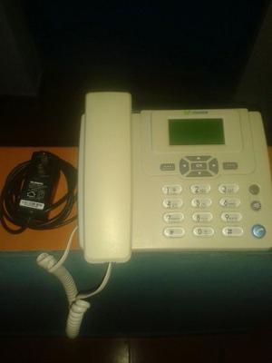 Telefono Fijo Huawei Ets312, Con Linea Movistar Y Saldo