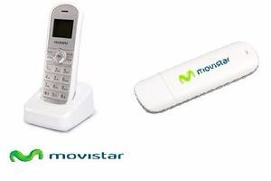 Teléfono Fijo Movistar + Moden De Internet Solo Empresas