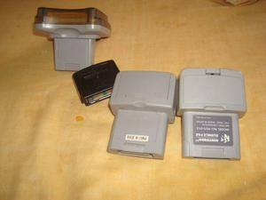 Transfer Pack Rumble Pack Jumper Pack N64 En Perfecto Estado