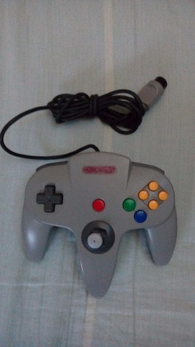 Vendo Un Control De Nintendo 64 Original Gris