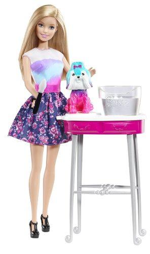 Barbie Muñeca Cute Perrito Cambia De Color Mattel Original