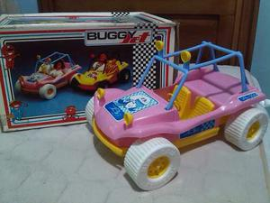 Carro Barbie Tipo Bugy Y Silla De Playa
