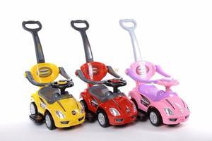 Carros Montables 3 En 1 Para Niños, Con Sonidos En Volante