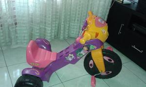 Moto Triciclo Fisher Price Dora Con Sonidos Y Musica - Usado