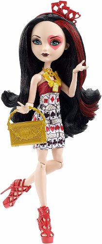 Muñeca Ever After High Lizzie Hearts Hija Reina Corazones