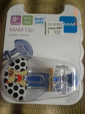 Sujeta Chupon Mam Clip