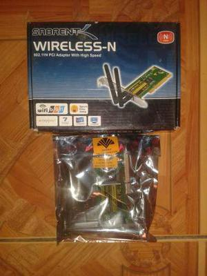 Adaptador Tarjeta Pci De Red Inalámbrica Wireless Wifi N