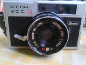 Cámara Antigua Ricoh 500 G