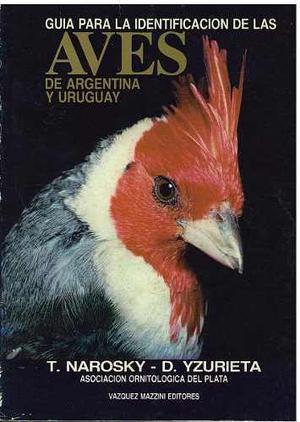 Libro, Guía Para La Identificación Aves Argentina Y