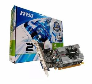 Tarjeta De Video Msi N210 Ddr3 1gb Pci Express Hdmi Dvi Xtc