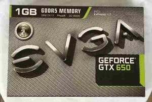 Tarjeta De Video Nvidia Evga Geforce Gtx  Gb