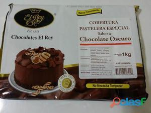 VENTA DE CHOCOLATES EL REY PARA PATELERIA Y CACAO EN POLVO