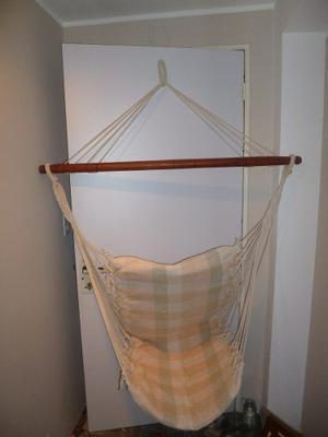 Oferta hermosa silla colgante tipo hamaca posot class - Silla hamaca colgante ...