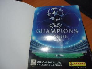 Albun Panini De La Champions 2007 2008, Totalmente Lleno..!!