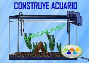 Kit Construye Acuario Pecera Plantas Mantenimiento Aprende