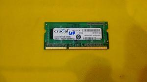 Memoria Ram Ddr3 Para Laptop De 1gb Y 2gb