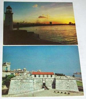 Muy Coleccionable Dos Preciosas Postales De Cuba / Nuevas.