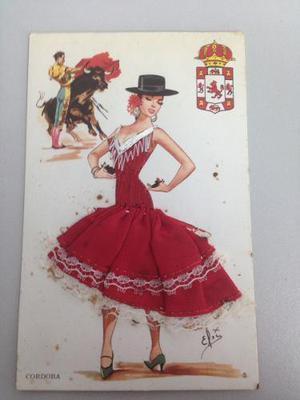 Postales Antiguas De Tauromaquia Imprenta Granada, Madrid