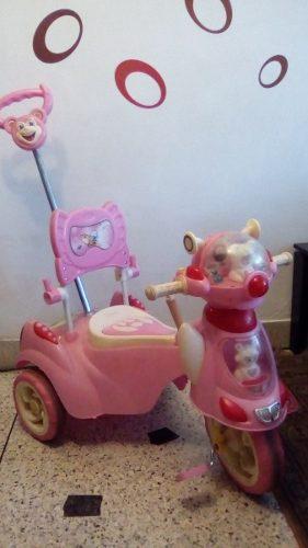 Triciclo Infantil Para Niña Usado.