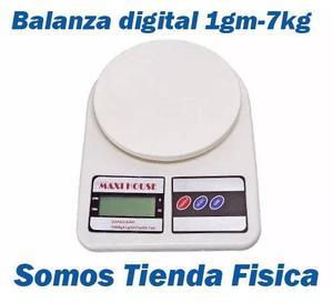 Balanza Digital 1 Gr - 7 Kg Cocina Maxi House #somostienda