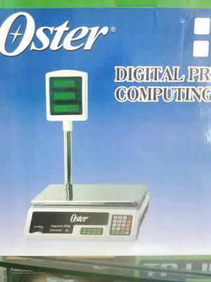 Balanza Digital Oster 40 Kg Con Pedestal