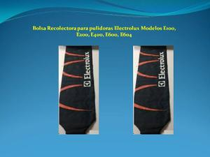 Bolsa Recolectora Para Pulidoras Electrolux