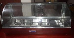 Calentador Baño Maria De 5 Bandejas. 1mts.
