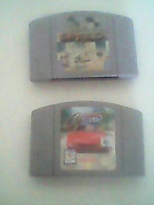 Dos Juegos De Carreras Par N64